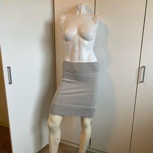 Free People Ribbed mini skirt